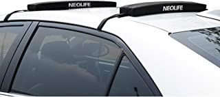 Neolife Soft Roof Rack Pads Single Wrap-Rax Surfboard Longboard,Kayak Straps,28inch [Pair]