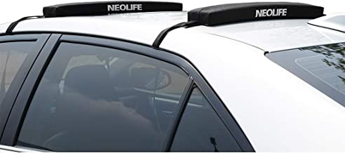 Neolife Soft Roof Rack Pads Single Wrap-Rax Surfboard Longboard,Kayak Straps,19inch [Pair]