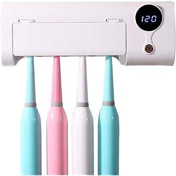 Bianco Sporco, 2 Andiker Porta spazzolino Elettrico da Muro Spazio-Salvo Porta spazzolino da Denti per Stare Secco Organizzatore di Spazzolino dei Denti