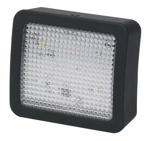 ocona TV Simulator Imitator mit LED Sicherheitsleuchte 25x70x80mm Batteriebetrieben