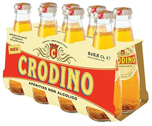 Campari - Crodino alkoholfreier Aperitif - 8 x 0,098l