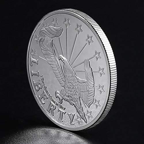 Heqing American of Liberty Colección de Monedas conmemorativas Regalo Souvenir Art Metal s