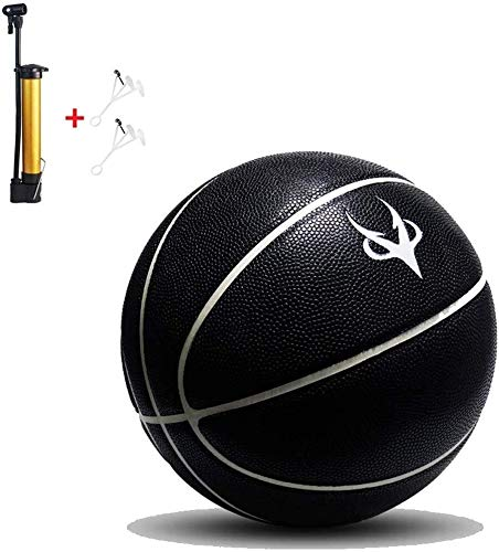 Find Discount ZHOU.D.1 Basketball- Standard Basketball No. 7 Size 9.7 Inches (24.6 cm),with Pump (Co...
