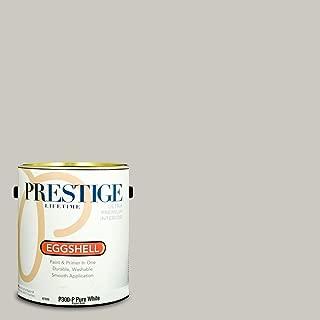 PRESTIGE P300-P-SW7015 Interior Paint and Primer in One, 1-Gallon, Eggshell, Comparable Match of Sherwin Williams Repose Gray, 1 Gallon, SW250-Repose