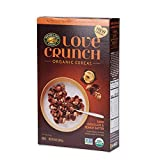 Love Crunch Organic Cereal, Dark Chocolate Peanut Butter, 10 Oz box (Pack of 6), Non GMO, by Nature's Path