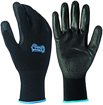 Gorilla Grip Slip Resistant All Purpose Work Gloves (Large)