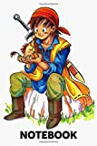 Dragon Quest 8 Notebook: (110 Pages, Lined, 6 x 9)