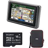 Garmin Zumo 665LM GPS Motorcycle Navigator with XM Receiver Bundle Includes Garmin Zumo 665LM GPS,...