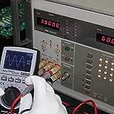 Slscyx 2 en 1 Multímetro de osciloscopio Digital Inteligente Multímetro de Barra analógica de Barra analógica 200K de Alta Velocidad A/D muestreo
