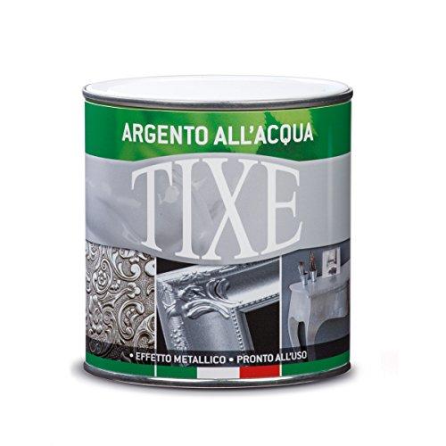 TIXE 603200 Vernice all'Acqua, Argento, 125 ml