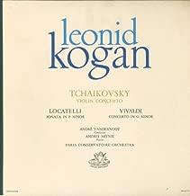 Tchaikovsky Violin Concerto - Locatelli Sonata In F Minor - Vivaldi Concerto In G Minor