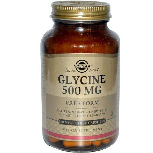 Glycine, 500 mg, 100 Veggie Caps -...