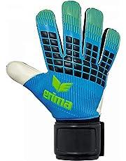 Erima GmbH Flexinator New Talent Guantes de Portero, Unisex niños, Curacao / Verde (Green Gecko), 3