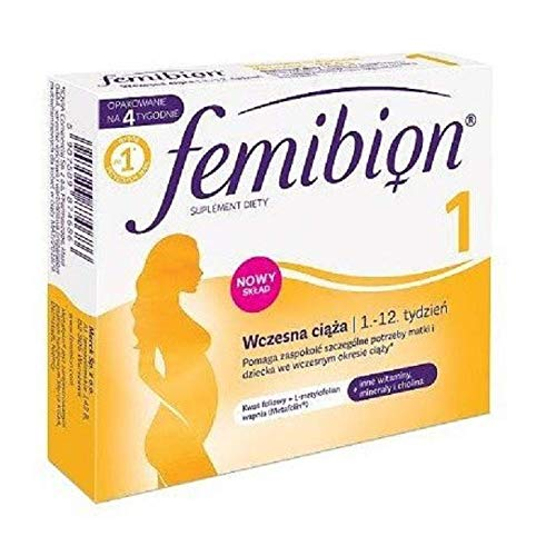 Femibion Natal 1 30 Tablets Healthy Pregnancy by Merck