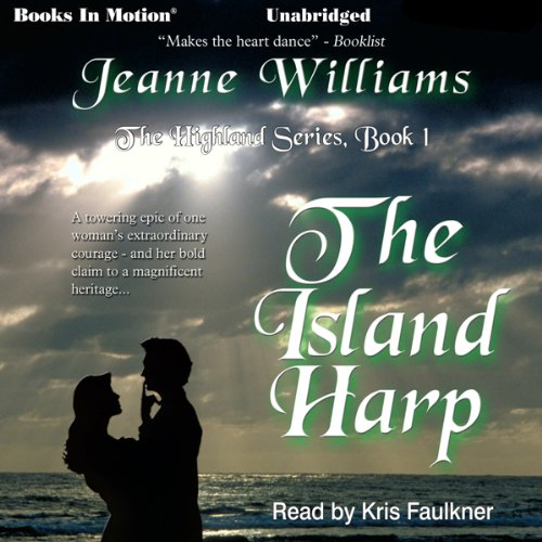The Island Harp audiobook cover art