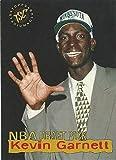 1995-96 Topps Stadium Club Draft Pick - Kevin Garnett - Minnesota Timberwolves Rookie NBA Basketball Card RC #5. rookie card picture
