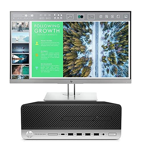 Bundle HP ProDesk 600 G4 SFF + Monitor HP E243   Intel Core i7 – 8700 3,2 GHz   8 RAM DDR4   SSD 256   Windows 10 Pro   FullHD 1920 × 1080 (reacondicionado)