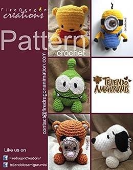 PDF Crochet Snoopy Amigurumi Pattern - Peanuts Tribute - Detailed  phototutorial in english, español, italiano | Amigurumi pattern, Knitted  toys free patterns, Snoopy | 332x260