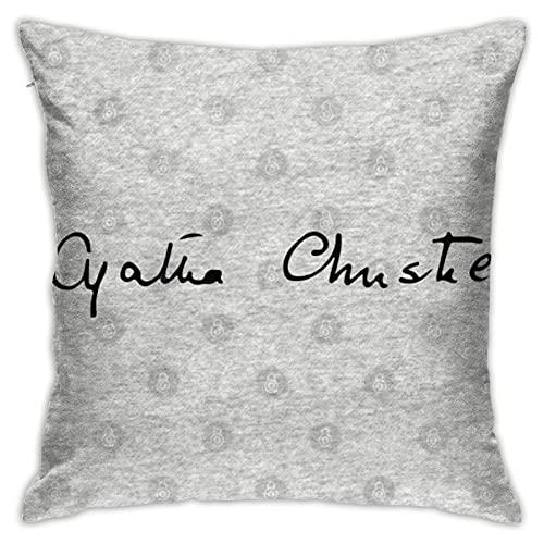 Agatha Christie'S Signature - Fundas de almohada
