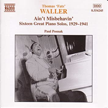Waller: 16 Great Piano Solos, 1929-1941, Transcribed by Paul Posnak
