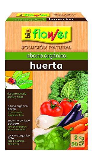 Flower 70557 70557-Abono orgánico Huerta, 2 kg, No Aplica, 20.4x7.5x31 cm