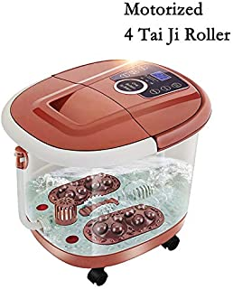 All in One Foot Spa Massage With Motorized Rolling Massage & 4 Pro-set Program - Heating, Rolling Massage, Temperature Setting