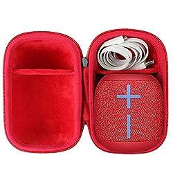 ❤Fabriqué en boîtier dur Premium Protège et stocke votre haut-parleur avec des câbles. ❤facilement et cet étui rigide est léger et compact pour tenir dans votre sac, sac à dos ou bagages et pratique à emporter partout. ❤super-élastique et l'extérieur...