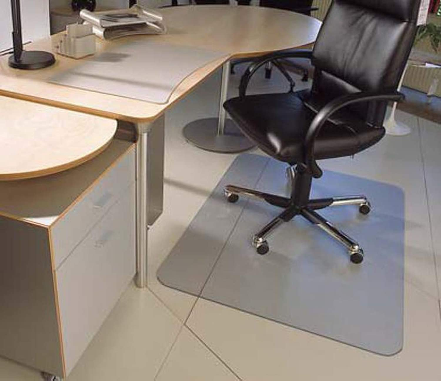 Carpet Floor Predector for Office Desk Chair,Clear PVC Plastic,Suitable Home and Office (35 x47 )