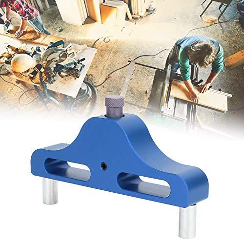Herramienta de carpintería de calibre 1 mm para herramientas de carpintería (azul)