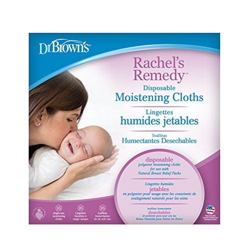 Dr. Brown's Rachel's Remedy Disposable Moistening Cloths Replacement, 16 Count