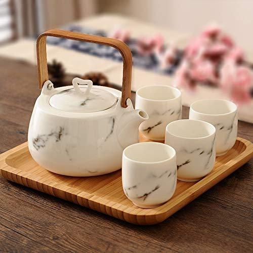 Why Choose JYXJJKK Household teapot Cup Set,Ceramic Teacup Set-B