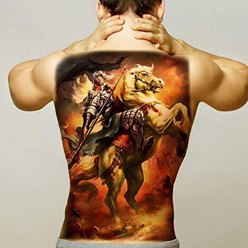 2pcs Hommes Halloween Tatouage Renard Fille Mode Applique 2pcs-15