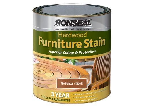Ronseal HWFSNC750 Hardwood FurnIture Stain Natural Cedar 750ml