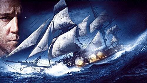 Pintura de Diamante DIY 5D Talla Grande Taladro Barco de vela Números...