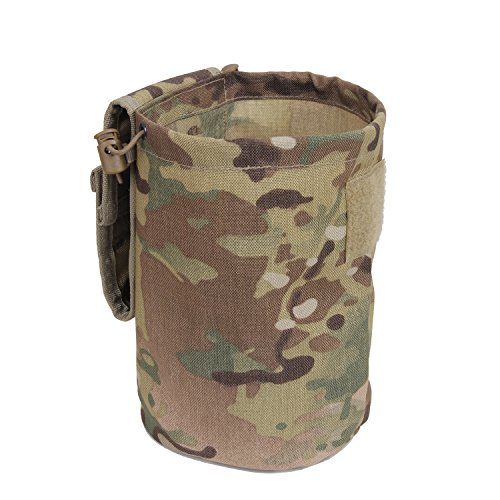 Rothco MOLLE Roll-Up Utility Dump Pouch, Multicam