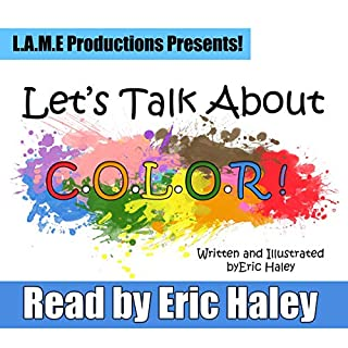 Let's Talk About Color! audiobook cover art