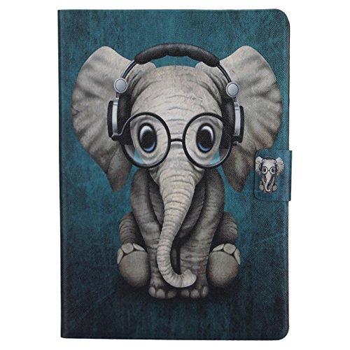Ssowun Fletion Coque iPad Pro 10.5 Housse de Protection Coque pour Apple iPad Pro 10.5 Pouces Smart Case Cover Housse Etui Coque de Protection Ultra Fine en TPU Case