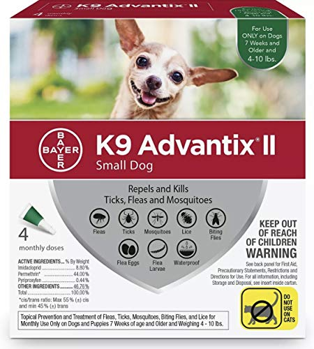 K9 ADVANTIX II for Small Dogs