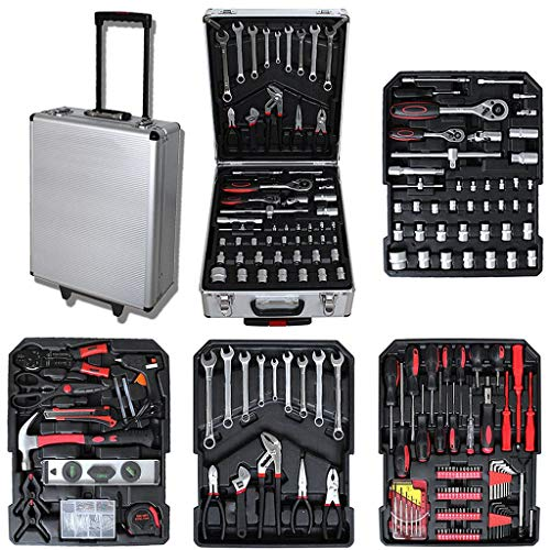 Todeco - Malette  Outils, Valise  Outils 251 pices - Valise...