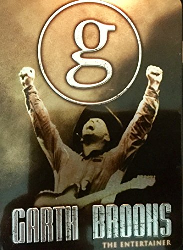 GARTH BROOKS 5 DVD SET THE ENTERTAINER TIN BOX LIMITED COLLECTOR'S EDITION