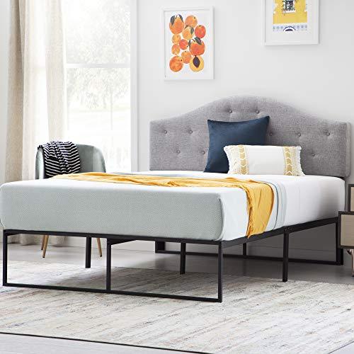 LINENSPA Contemporary Platform Bed Frame, Queen