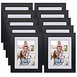 Giftgarden Marco de Fotos Collages de Madera sintética 10Piezas Múltiple 9x13cm