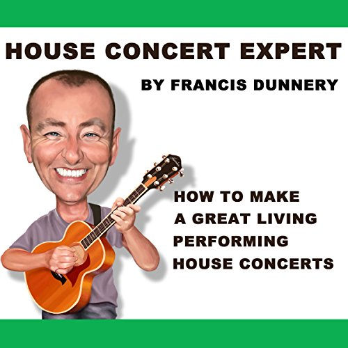 House Concert Expert audiobook cover art