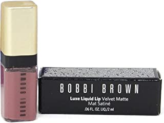 Bobbi Brown Luxe liquid lip velvet matte in Double Bare- mini