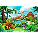 100 Piece Jigsaw Puzzles for Kids 4-8 Puzzles for Toddler Dinosaur Puzzle Children Learning Preschool Educational Puzzles Toys for Boys and Girls