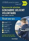 Gendarme adjoint volontaire - Epreuves de sélection GAV APJA - EP - Tout-en-un (2020)