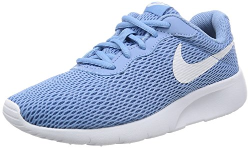 Nike Tanjun GG, Zapatillas Deportivas para Interior para Niñas, Azul (December Sky/White-Thunder...