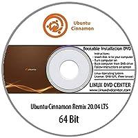 Ubuntu Cinnamon Remix 20.04 LTS (64Bit) - Bootable Linux Installation DVD