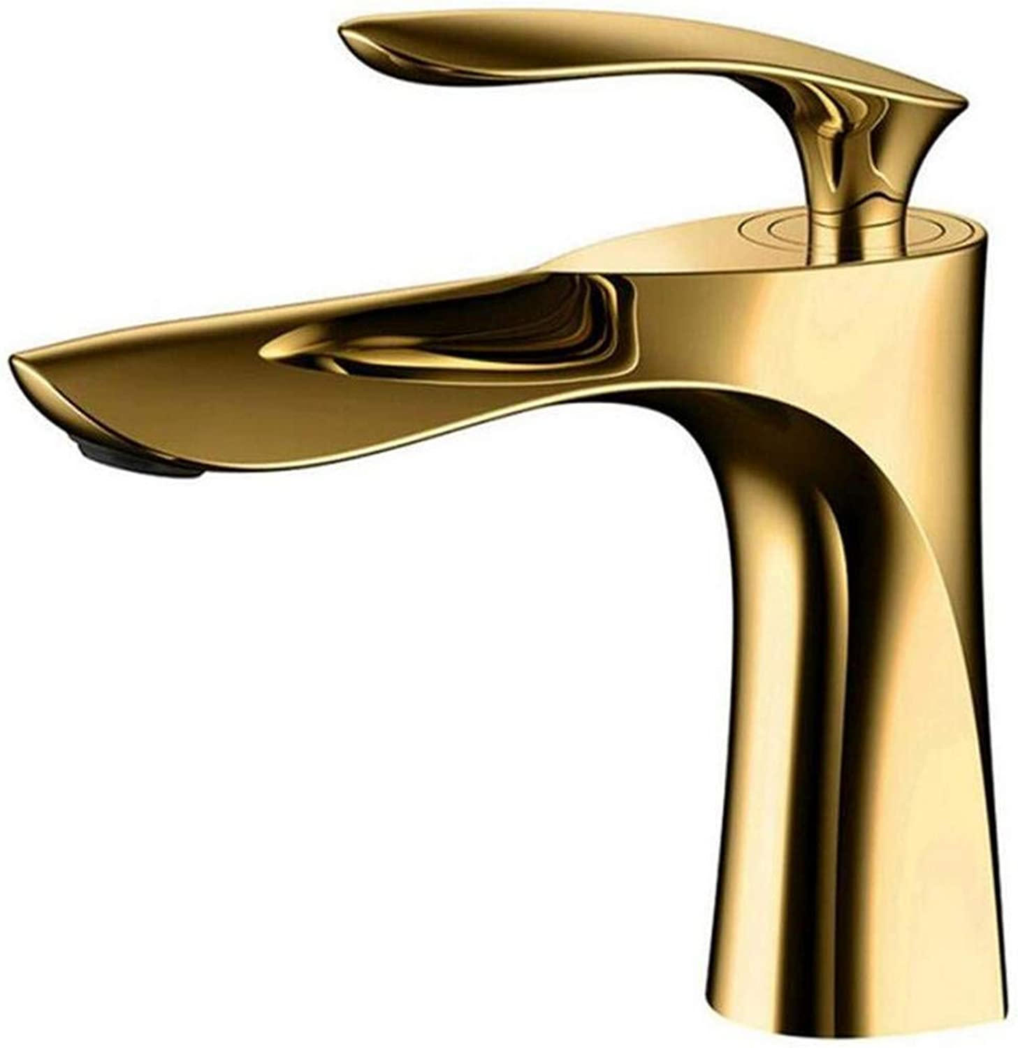 Retro Hot and Cold Water Brass Kitchen golden Finish Brass Faucet Hot & Cold Water Basin Mixer Elegant Retro Tap Toilet Sink Crane Torneira Grifo