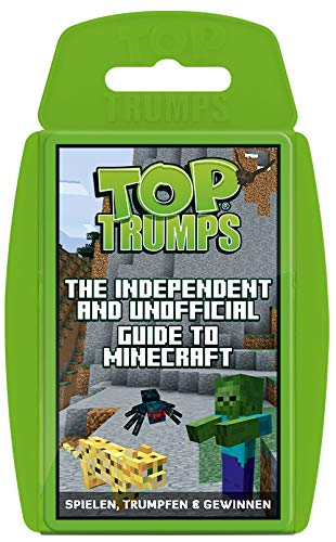 Winning Moves 63568 Minecraft Top Trumps-The Independent and Unofficial Guide to